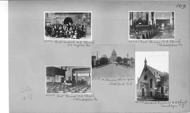 Mission Photograph Album - Cities #11 page 0103