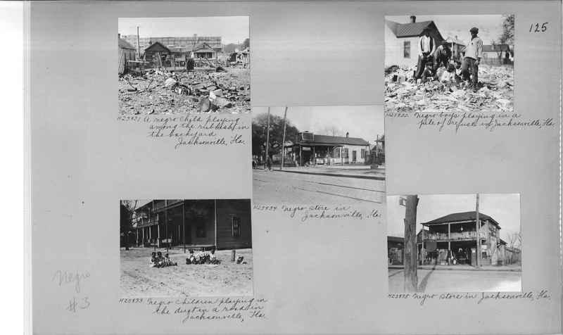Mission Photograph Album - Negro #3 page 0125
