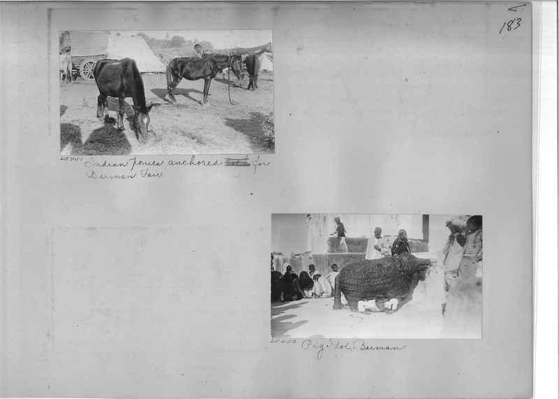 Mission Photograph Album - India #08 Page 0183