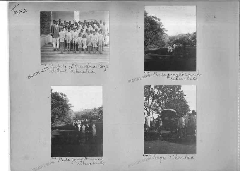 Mission Photograph Album - India #09 Page 0242