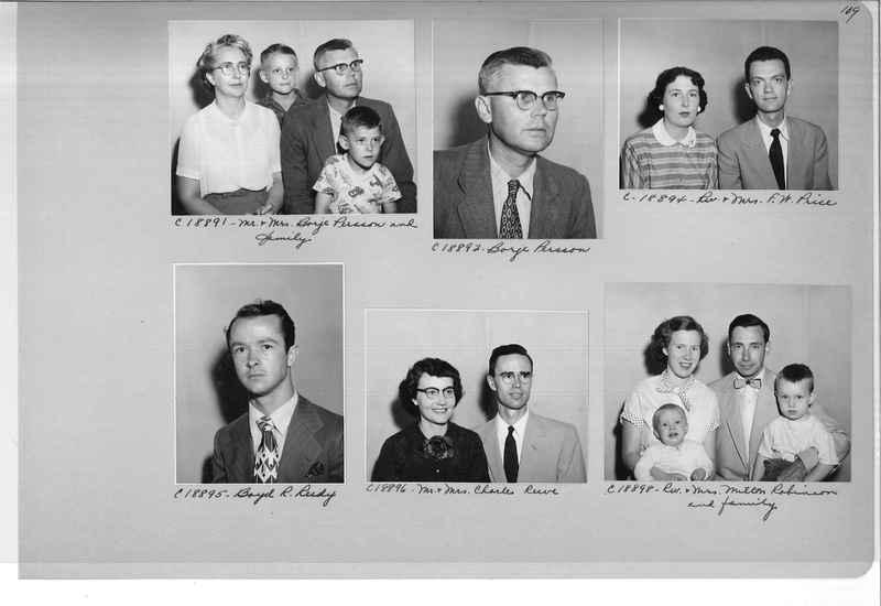 Mission Photograph Album - Portraits #08 Page 0109