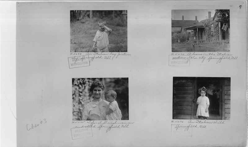 Mission Photograph Album - Cities #3 page 0007