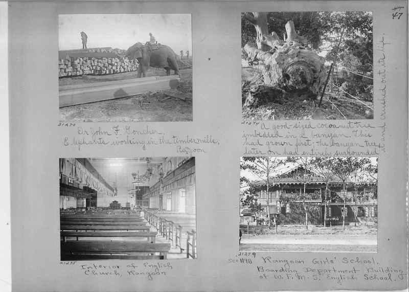 Mission Photograph Album - Burma #1 page 0047
