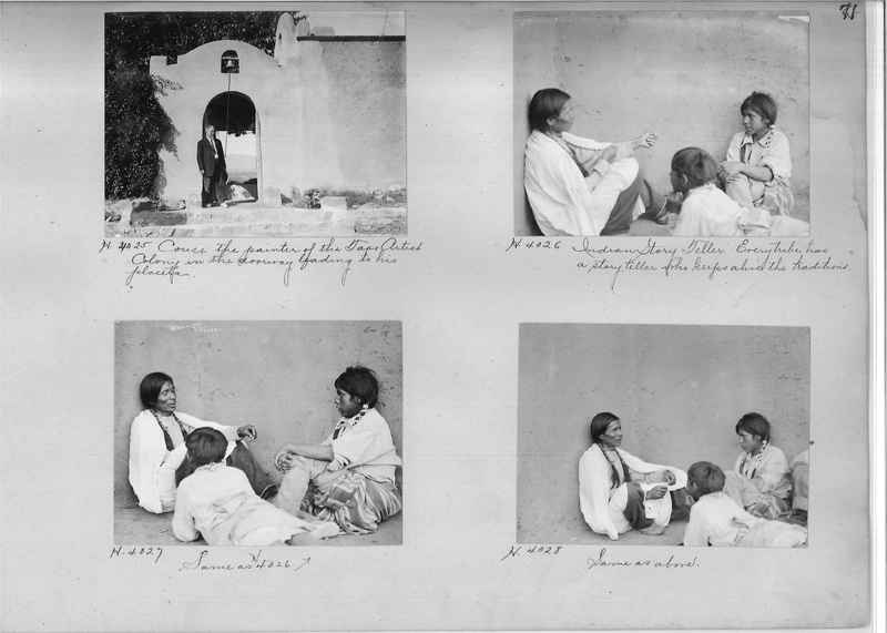 Mission Photograph Albums - Indians #1 page 0071
