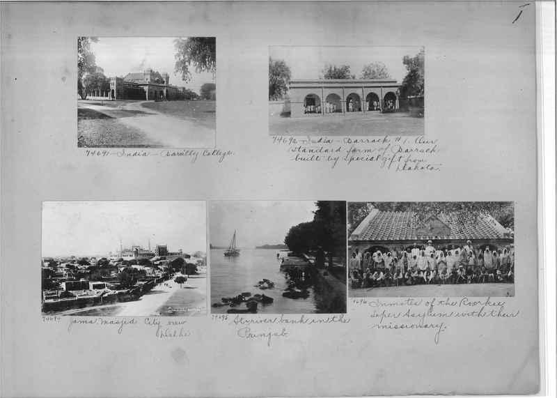 Mission Photograph Album - India #09 Page 0001