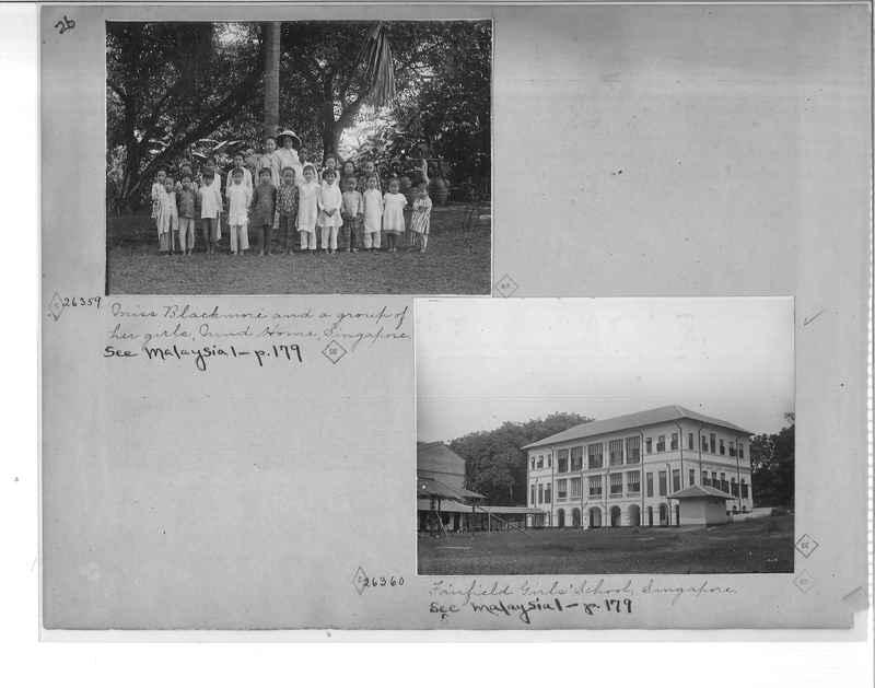 Mission Photograph Album - Malaysia O.P. #1 page 0026
