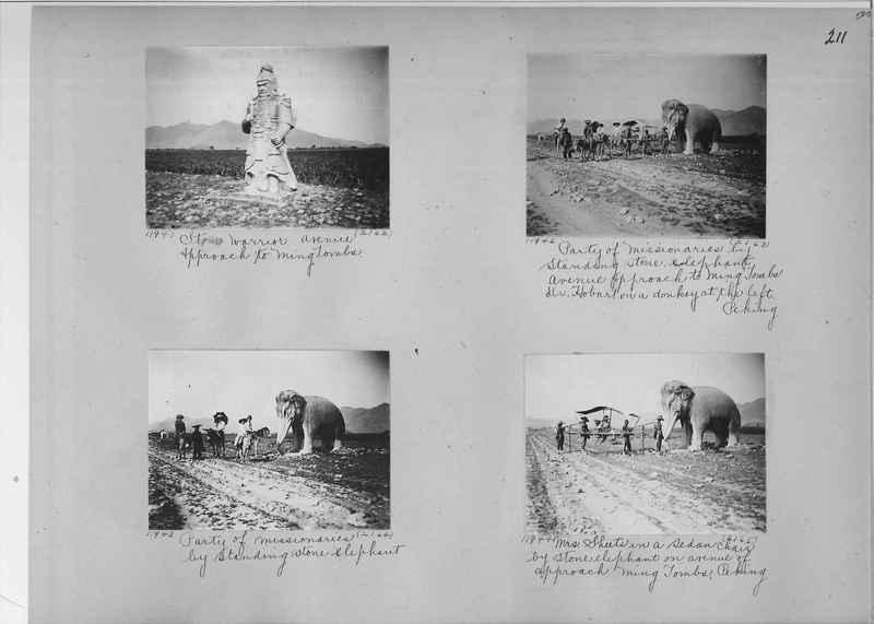 Mission Photograph Album - China #2 page  0211
