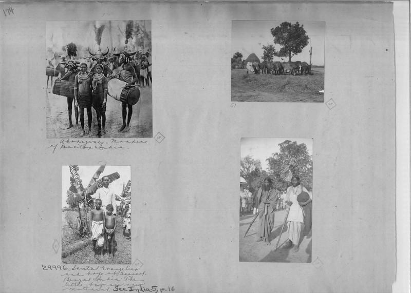 Mission Photograph Album - India - O.P. #02 Page 0174