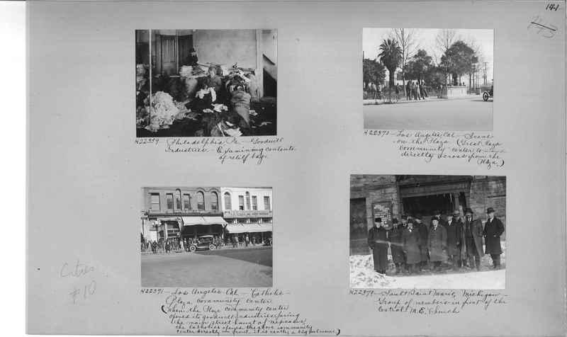 Mission Photograph Album - Cities #10 page 0141