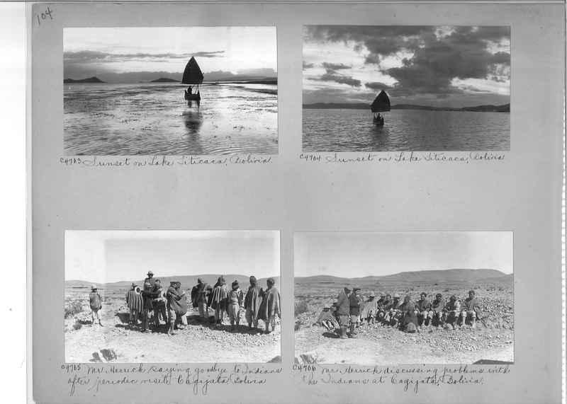 Misson Photograph Album - South America #8 page 0104