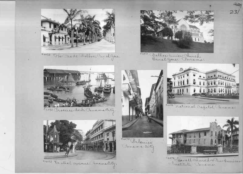 Mission Photograph Album - Panama #04 page 0231