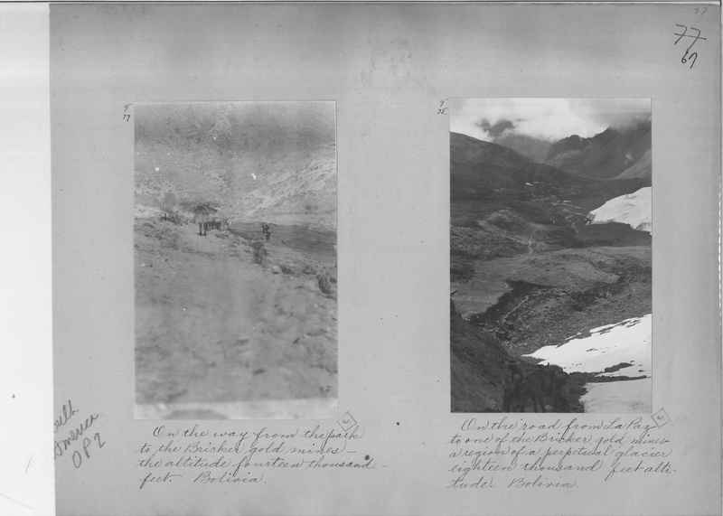 Mission Photograph Album - South America O.P. #2 page 0067
