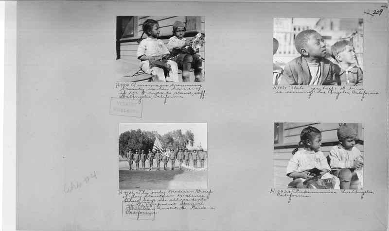 Mission Photograph Album - Cities #4 page 0209