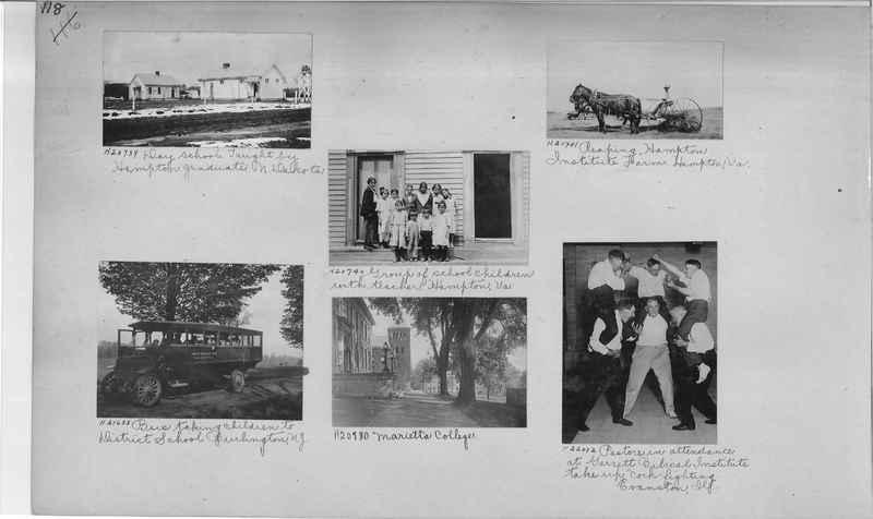 Mission Photograph Album - Education #1 page 0118