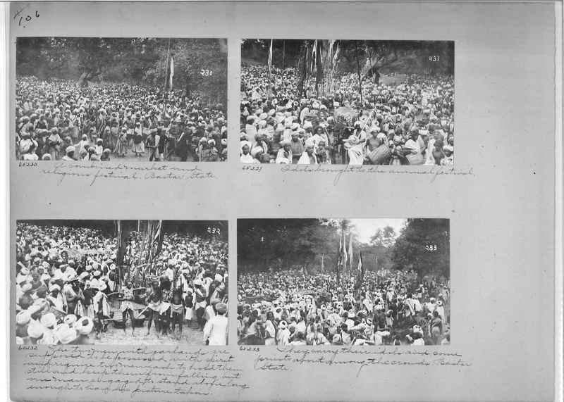 Mission Photograph Album - India #08 Page 0106