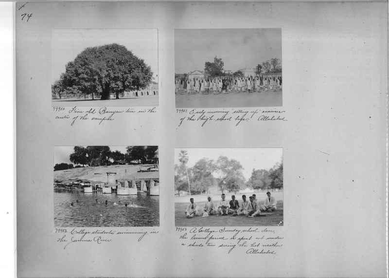 Mission Photograph Album - India #09 Page 0074