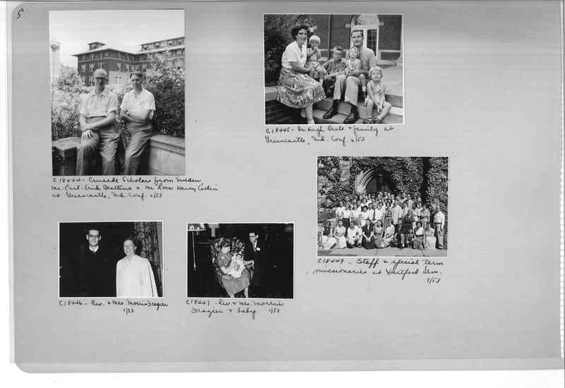 Mission Photograph Album - Portraits #08 Page 0050