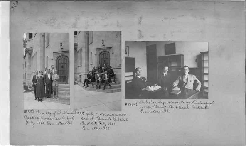 Mission Photograph Album - Education #2 page 0074