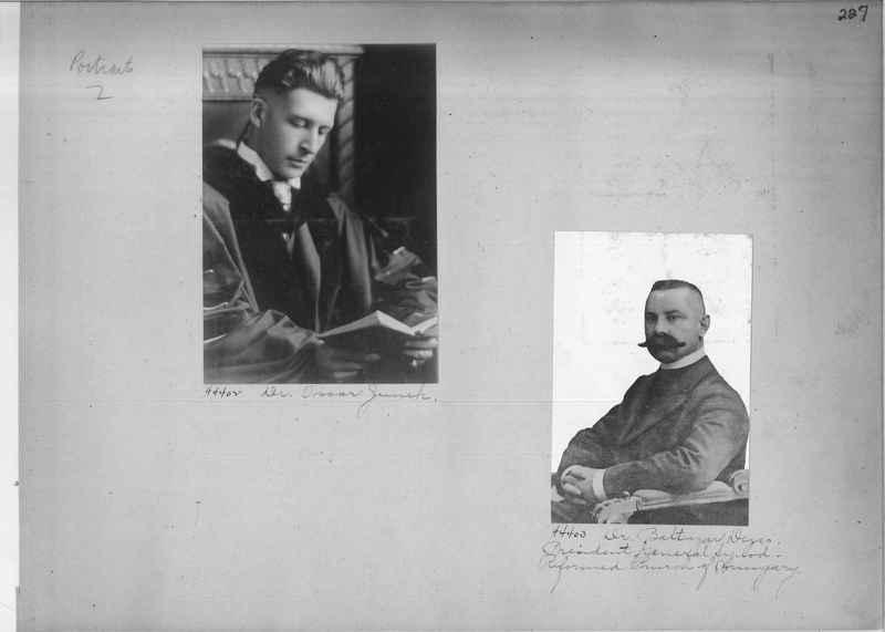 Mission Photograph Album - Portraits #2 page 0227