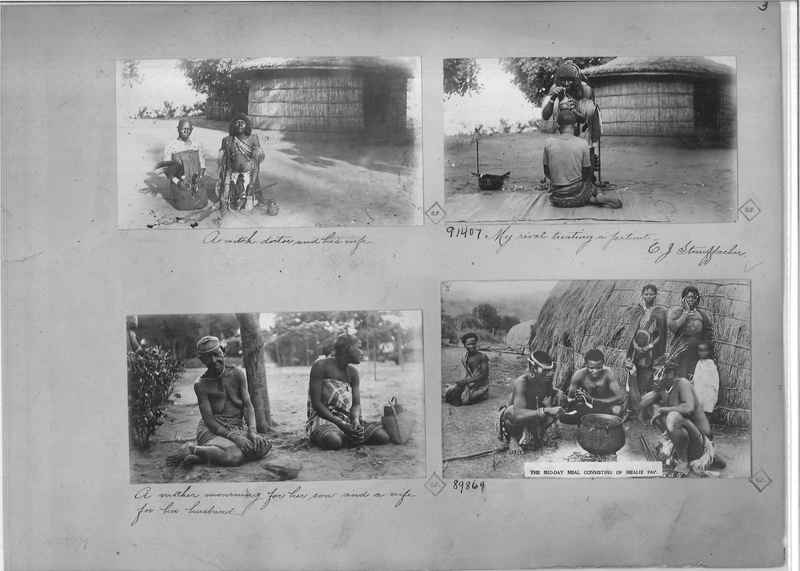 Mission Photograph Album - Africa O.P. #4 page 0003