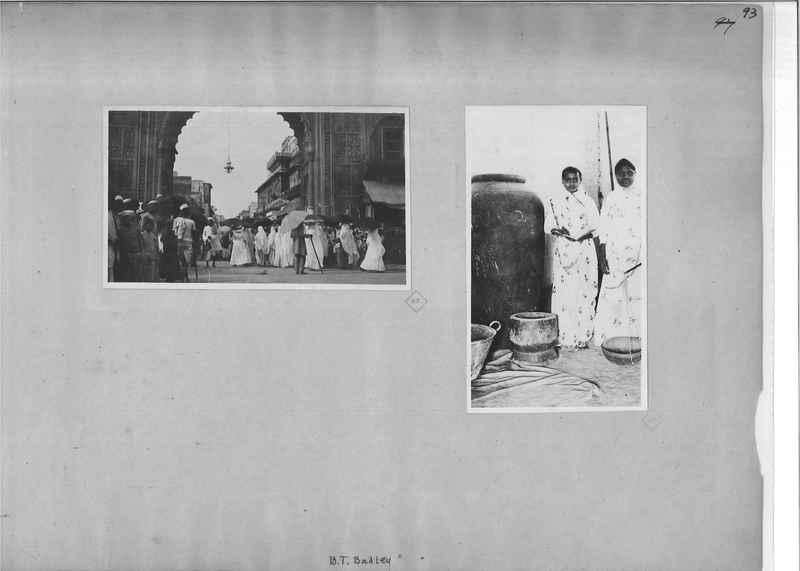 Mission Photograph Album - India - O.P. #01 Page 0093