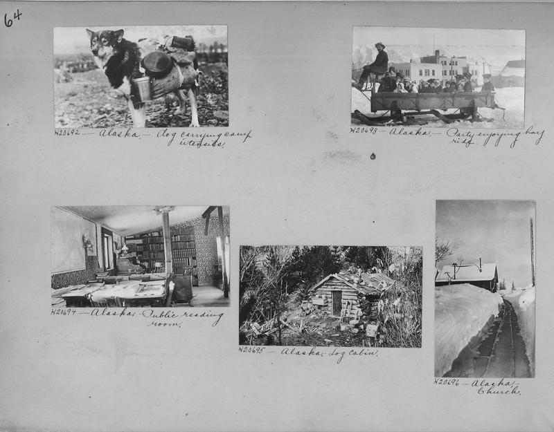 Mission Photograph Album - Alaska #1 page 0064