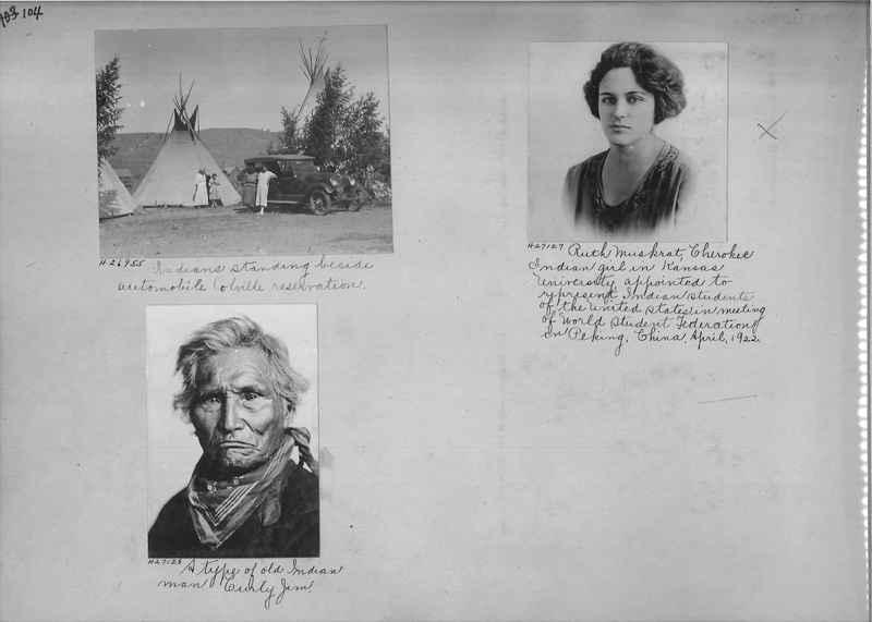 Mission Photograph Album - Indians #2 page_0104