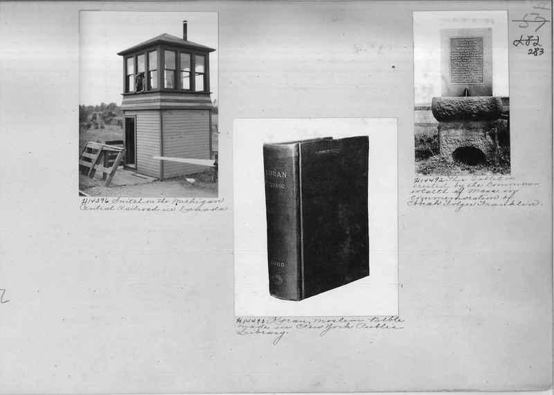 Mission Photograph Album - Miscellaneous #02 Page 0283