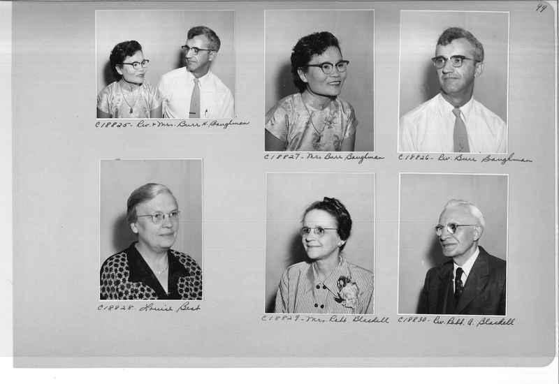 Mission Photograph Album - Portraits #08 Page 0099