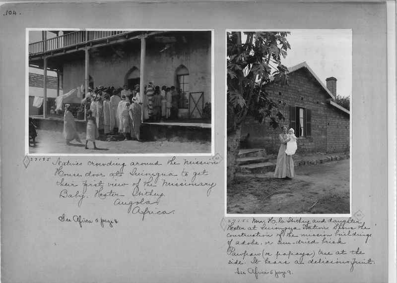 Mission Photograph Album - Africa - Madeira O.P. #1 page 0104