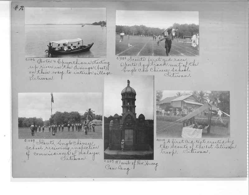Mission Photograph Album - Malaysia #7 page 0076