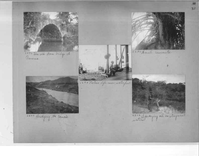 Mission Photograph Album - Panama #1 page  0031