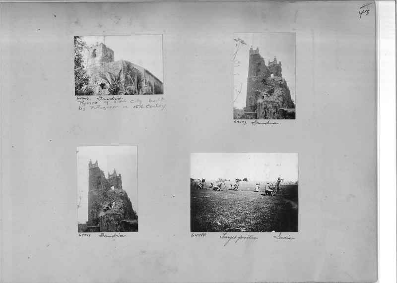 Mission Photograph Album - India #08 Page 0043