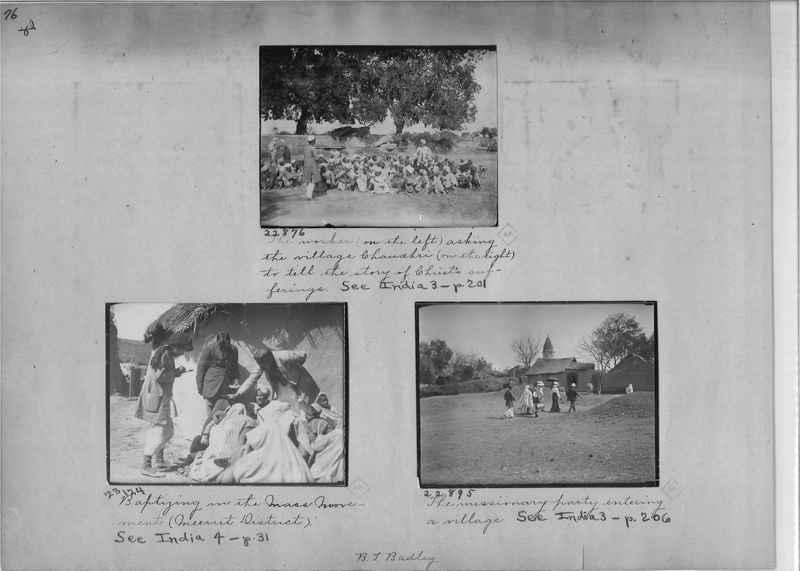 Mission Photograph Album - India - O.P. #01 Page 0076