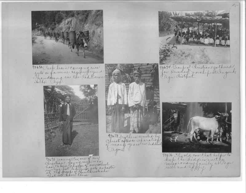 Mission Photograph Album - Burma #2 page 0025