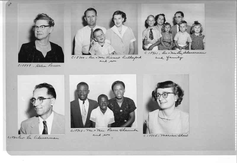Mission Photograph Album - Portraits #08 Page 0110