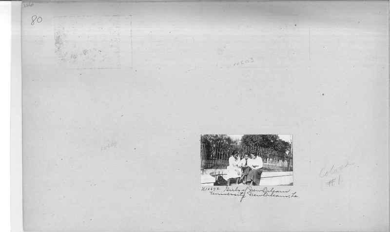 Mission Photograph Album - Negro #1 page 0080