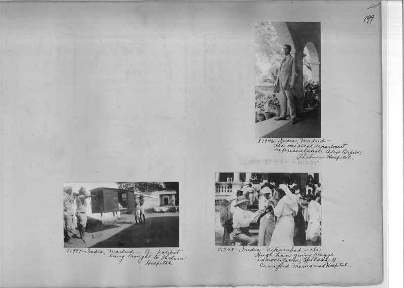 Mission Photograph Album - India #09 Page 0199