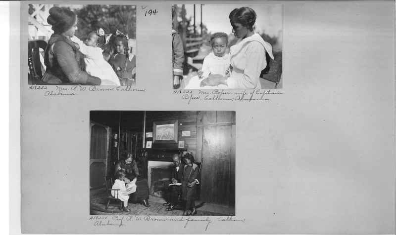 Mission Photograph Album - Negro #2 page 0194