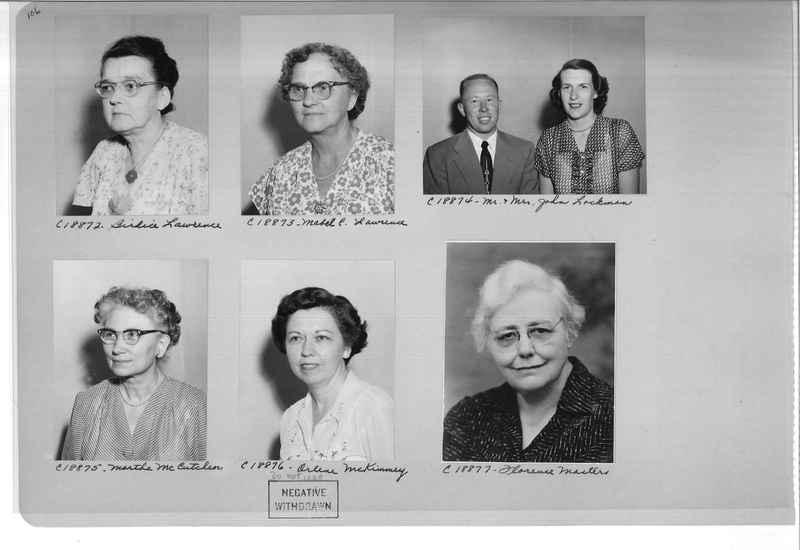 Mission Photograph Album - Portraits #08 Page 0106