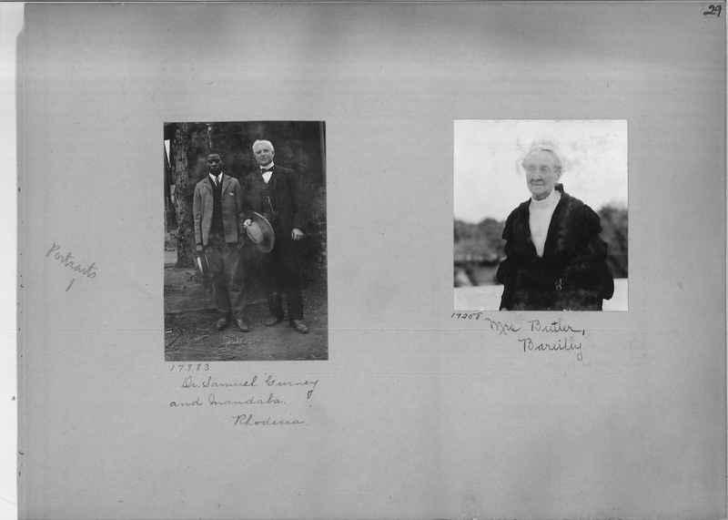 Mission Photograph Album - Portraits #1 page 0029
