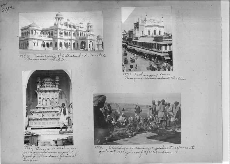 Mission Photograph Album - India #08 Page 0242
