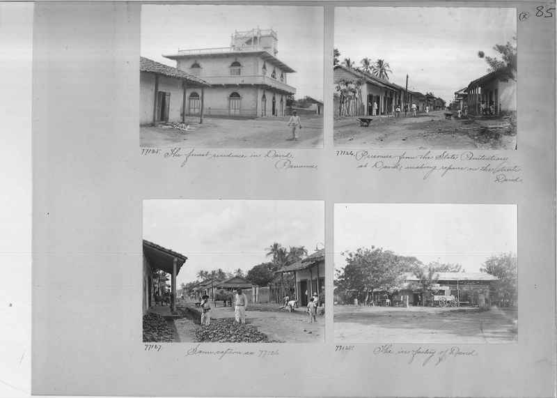 Mission Photograph Album - Panama #03 page 0085