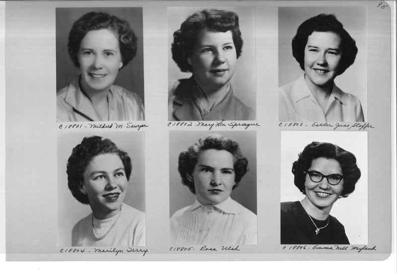Mission Photograph Album - Portraits #08 Page 0095