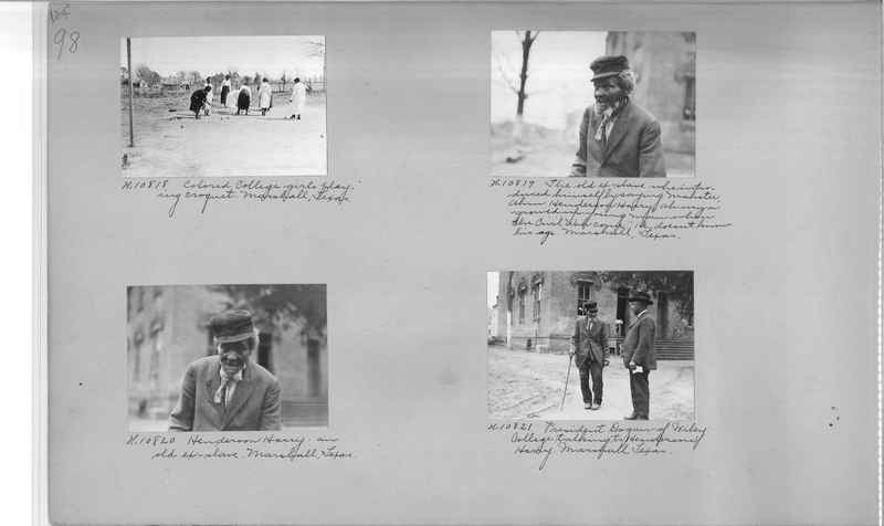 Mission Photograph Album - Negro #1 page 0098