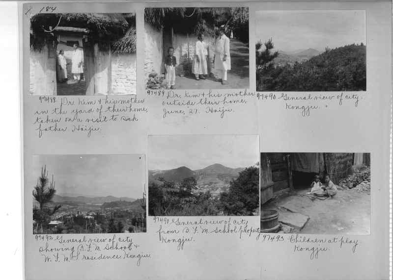 Mission Photograph Album - Korea #5 page 0184