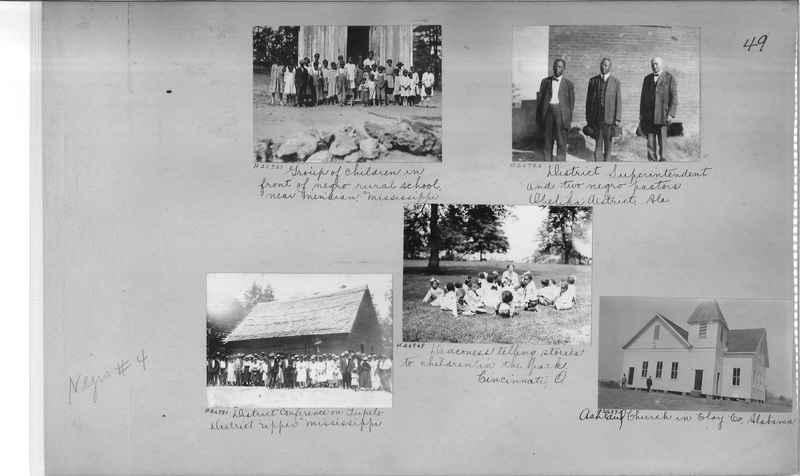 Mission Photograph Album - Negro #4 page 0049