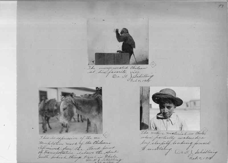 Mission Photograph Album - South America O.P. #1 page 0093