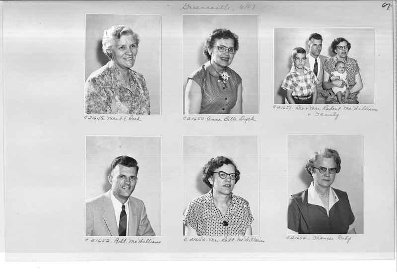 Mission Photograph Album - Portraits #10 Page 0067