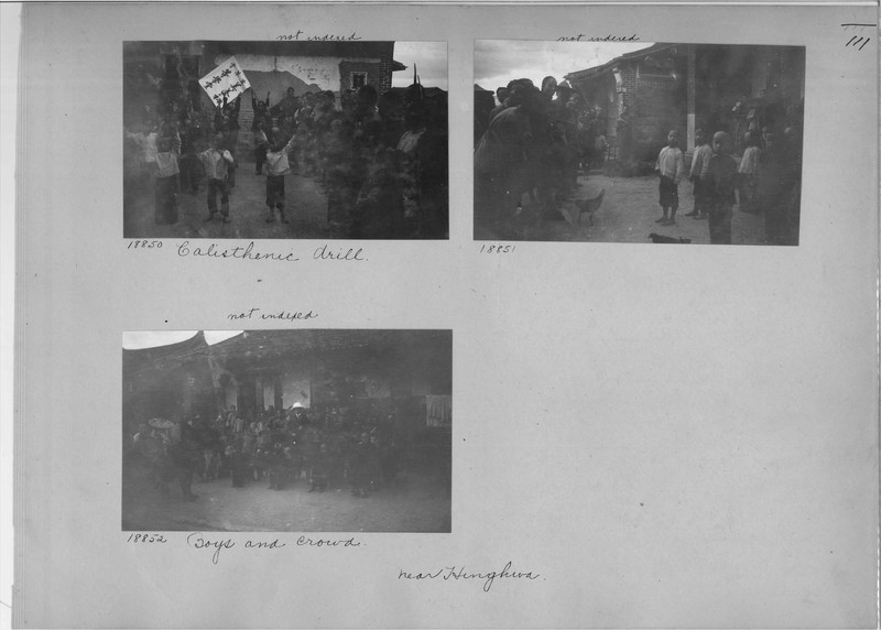 Mission Photograph Album - China #5 page 0111